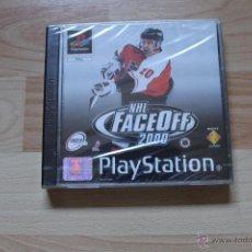 Videojuegos y Consolas: NHL FACEOFF 2000 PRECINTADO PLAYSTATION PSX PS1 EDICIÓN ESPAÑOLA NHL FACE OFF 2000. Lote 172960678