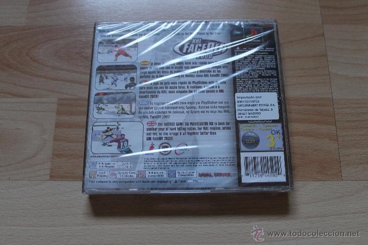 Videojuegos y Consolas: NHL FACEOFF 2000 PRECINTADO PLAYSTATION PSX PS1 EDICIÓN ESPAÑOLA NHL FACE OFF 2000 - Foto 2 - 172960678