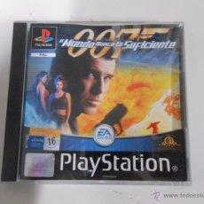 Videojuegos y Consolas: JAMES BOND 007 EL MUNDO NUNCA ES SUFICIENTE. PLAYSTATION 1 PAL. TDKV4. Lote 53821924