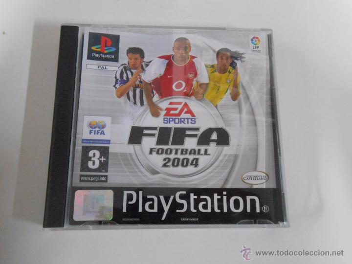 FIFA 2004. FOOTBALL. EA SPORTS. PLAYSTATION 1. PAL. TDKCD1 (Juguetes - Videojuegos y Consolas - Sony - PS1)