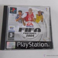 Videojuegos y Consolas: FIFA 2004. FOOTBALL. EA SPORTS. PLAYSTATION 1. PAL. TDKV4. Lote 53821971