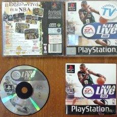 Videojuegos y Consolas: NBA LIVE 99 SPORTS. Lote 53873391