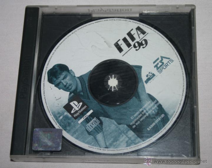 JUEGO DE PLAY STATION 1 FIFA 99 - EA SPORTS (Juguetes - Videojuegos y Consolas - Sony - PS1)
