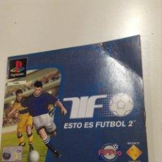 Videojuegos y Consolas: PLAYSTATION - ESTO ES FUTBOL - CD DEMOSTRACION - PB10. Lote 54283766