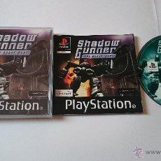 Videojuegos y Consolas: JUEGO COMPLETO SHADOW GUNNER PLAYSTATION 1 PS1.PSX. PAL ESPAÑA. RARO.. Lote 54520718