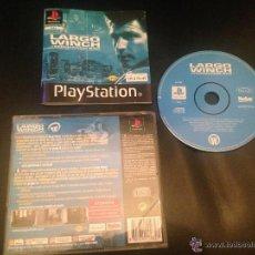 Videojuegos y Consolas: LARGO WINCH COMMANDO SAR UBI SOFT PS1 PSX PLAY STATION PLAYSTATION JUEGO SONY. Lote 54620934