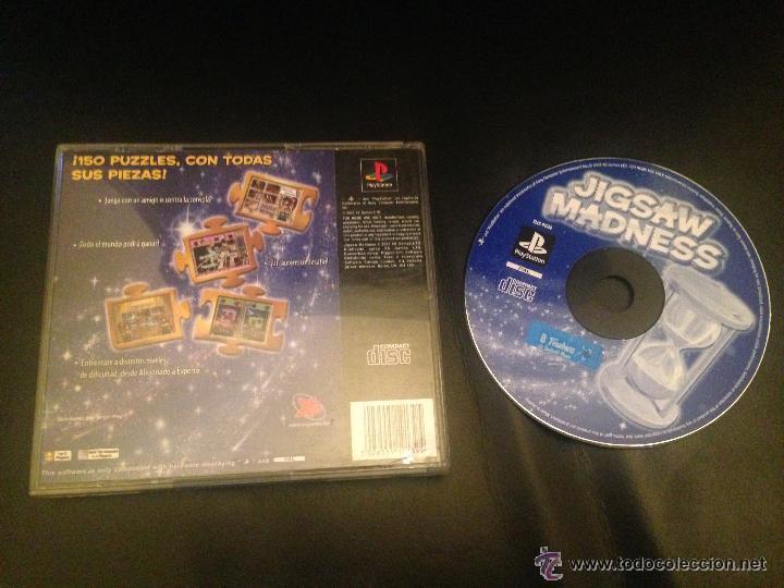 JIGSAW MADNESS PS1 PSX PLAY STATION PLAYSTATION JUEGO SONY (Juguetes - Videojuegos y Consolas - Sony - PS1)