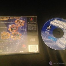 Videojuegos y Consolas: JIGSAW MADNESS PS1 PSX PLAY STATION PLAYSTATION JUEGO SONY. Lote 54620947