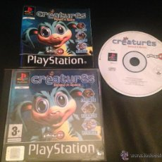 Videojuegos y Consolas: CREATURES RAISED IN SPACE PLAY IT PS1 PSX PLAY STATION PLAYSTATION JUEGO. Lote 54620979