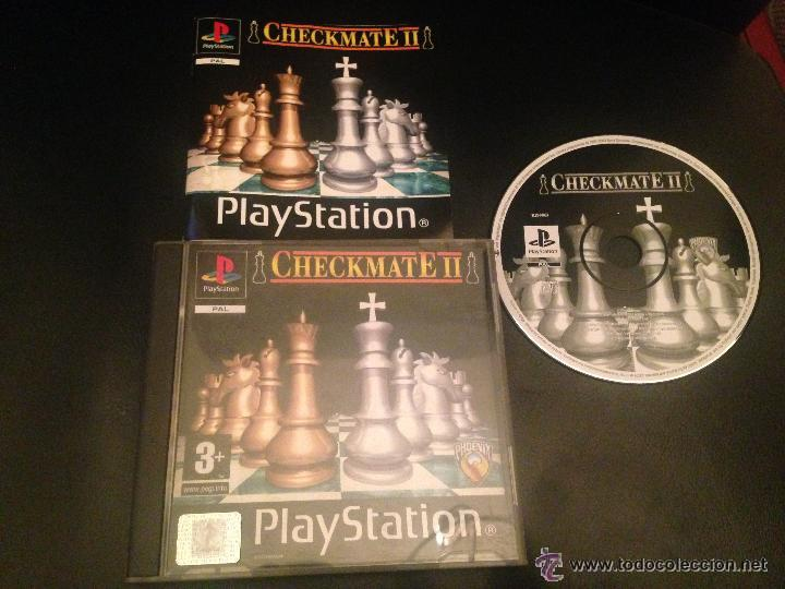 CHECKMATE CHECK MATE II 2 PS1 PSX PLAY STATION PLAYSTATION JUEGO