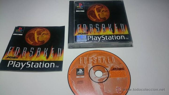FORSAKEN (PLAYSTATION ONE-PSX -PAL- ESPAÑA) (Juguetes - Videojuegos y Consolas - Sony - PS1)