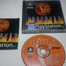 Videojuegos y Consolas: FORSAKEN (PLAYSTATION ONE-PSX -PAL- ESPAÑA). Lote 54650831