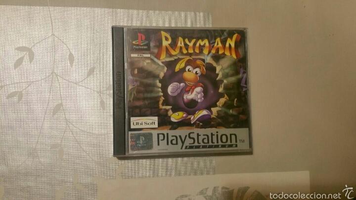 RAYMAN, JUEGO PS1 (Juguetes - Videojuegos y Consolas - Sony - PS1)
