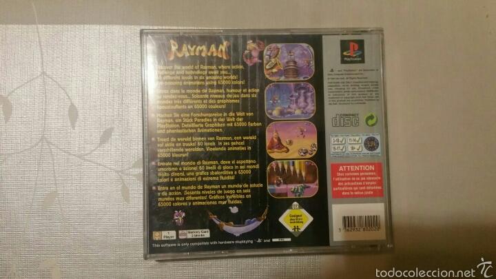 Videojuegos y Consolas: Rayman, juego Ps1 - Foto 2 - 54661979