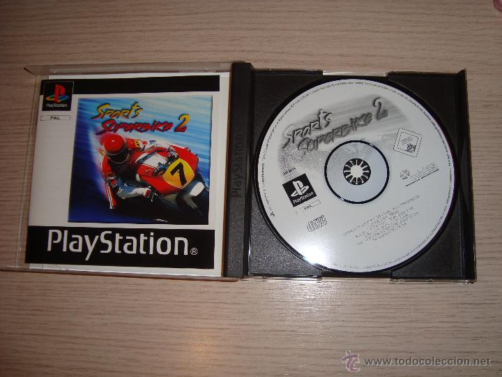 JUEGO PLAYSTATION SPORTS SUPERBIKE 2 (Juguetes - Videojuegos y Consolas - Sony - PS1)