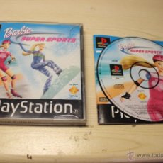 Videojuegos y Consolas: BARBIE SUPER SPORTS - PSX PLAYSTATION 1 - PAL ES. Lote 54864665