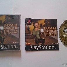 Videojuegos y Consolas: JUEGO COMPLETO TOMB RAIDER THE LAST REVELATION PLAYSTATION 1 PS1 PSX.PAL UK. Lote 55821432