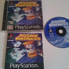 Videojuegos y Consolas: JUEGO COMPLETO JIGSAW MADNESS PLAYSTATION 1 PS1 PSX.PAL. ESPAÑOL Y OTROS IDIOMAS. Lote 55822285