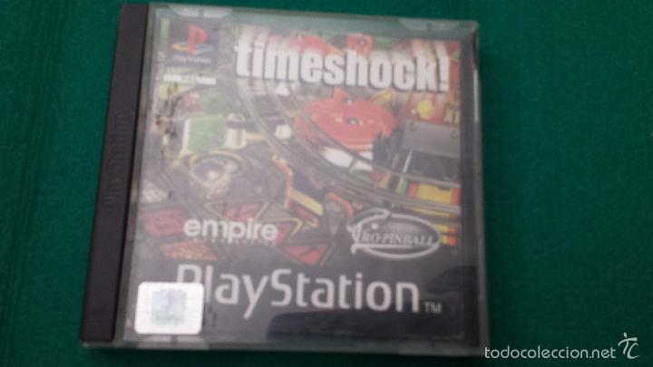 Timeshock Juego Playstation 1 Ps1 Play 1 Comprar Videojuegos Y