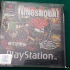 Videojuegos y Consolas: TIMESHOCK JUEGO PLAYSTATION 1 PS1 PLAY 1. Lote 56028179