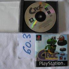 Videojuegos y Consolas: ANTIGUO JUEGO PARA PLAYSTATION CROC. Lote 115180427