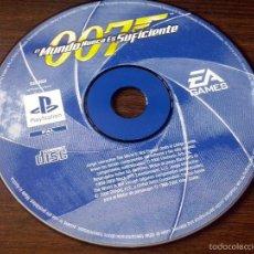 Videojuegos y Consolas: JUEGO PLAYSTATION 1 PSX 007 JAMES BOND MUNDO NUNCA ES SUFICIENTE . SOLO JUEGO.. Lote 56179434