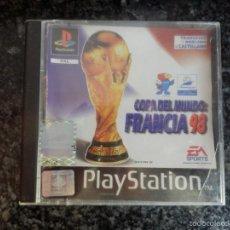 Videojuegos y Consolas: PLAY STATION 1 PS 1 JUEGO CONSOLA FUTBOL FRANCIA 98 . Lote 56348199