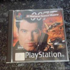 Videojuegos y Consolas: 007 EL MAÑANA NUNCA MUERE PS 1 CONSOLA SONY PS PLAY STATION VIDEOJUEGO . Lote 56348347
