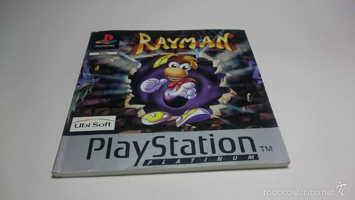 MANUAL INSTRUCCIONES - RAYMAN ( SONY PS1 - PSX) ( JC) (Juguetes - Videojuegos y Consolas - Sony - PS1)