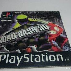 Videojuegos y Consolas: MANUAL INSTRUCCIONES - ROAD RASH 3D ( SONY PS1 - PSX) ( JC). Lote 56935992