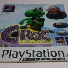 Videojuegos y Consolas: MANUAL INSTRUCCIONES - CROC - LEGEND OF THE ... ( SONY PS1 - PSX) ( JC). Lote 56936022