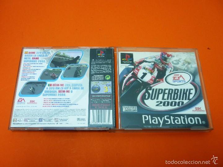 SUPERBIKE 2000 - PLAYSTATION 1- PAL (Juguetes - Videojuegos y Consolas - Sony - PS1)