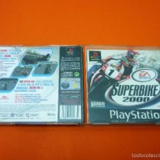 Videojuegos y Consolas: SUPERBIKE 2000 - PLAYSTATION 1- PAL. Lote 56972945