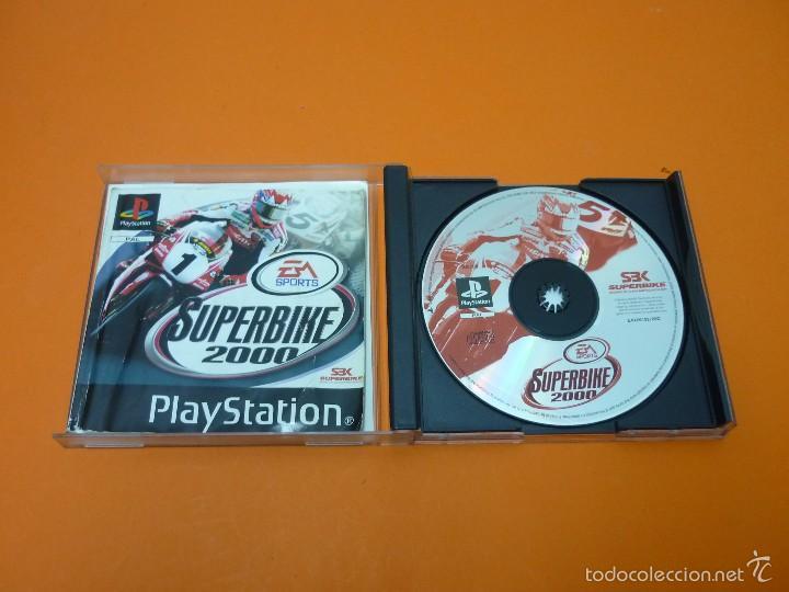 Videojuegos y Consolas: SUPERBIKE 2000 - PLAYSTATION 1- PAL - Foto 2 - 56972945