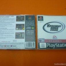 Videojuegos y Consolas: KNOCKOUT KINGS 2000 - PLAYSTATION 1- PAL. Lote 56973074