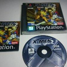 Videojuegos y Consolas: X-MEN 2 : MUTANT ACADEMY (PLAYSTATION ONE-PSX -PAL- ESPAÑA). Lote 57650936