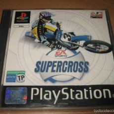 Videojuegos y Consolas: SUPERCROSS PSX PSONE PAL ESPAÑA COMPLETO - EA SPORTS. Lote 58352168