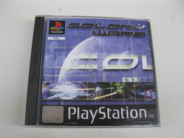 COLONY WARS - JUEGO PARA PLAYSTATION 1 - INCLUYE 2 DISCOS. (Juguetes - Videojuegos y Consolas - Sony - PS1)