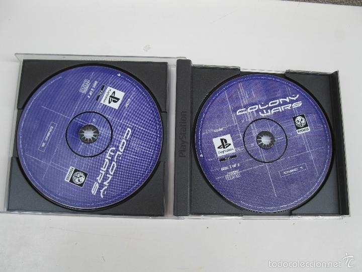 Videojuegos y Consolas: COLONY WARS - JUEGO PARA PLAYSTATION 1 - INCLUYE 2 DISCOS. - Foto 2 - 59149235