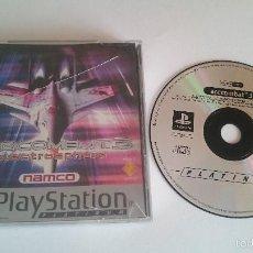 Videojuegos y Consolas: JUEGO ACECOMBAT ACE COMBAT 3 SONY PLAYSTATION PS1 PSX PAL CASTELLANO. Lote 59470885