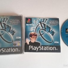 Videojuegos y Consolas: JUEGO COMPLETO WEAKEST LIST SONY PLAYSTATION PS1 PSX PAL . Lote 59475444