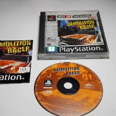 Videojuegos y Consolas: DEMOLITION RACER (PLAYSTATION ONE-PSX -PAL- ESP). Lote 142785701