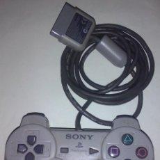 Videojuegos y Consolas: SONY PLAYSTATION 1 PS1 PSONE ~ MANDO CONTROLADOR ANALOGÍCO GRIS OSCURO MODELO N50 ~ FUNCIONANDO OK. Lote 60093479