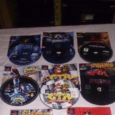 Videojuegos y Consolas: LOTE DE 8 JUEGOS PS1 EN PORTA CDS DE PLAY STATION. Lote 60386023