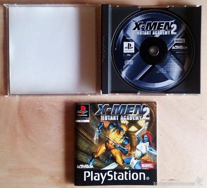 Videojuegos y Consolas: X-Men / Mutant Academy 2 / Juego PlayStation Play Station / PAL / Marvel Activision 2001 - Foto 2 - 60418135