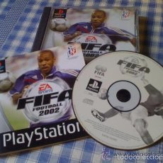 Videojuegos y Consolas: FIFA FOOTBALL 2002 PARA SONY PLAY STATION PS1 PAL FRANCE PLAYSTATION VERSIÓN FRANCESA. Lote 61104339