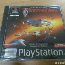 Videojuegos y Consolas: STAR TREK INVASION - PSX PS1 - PLAYSTATION - NUEVO - PAL ESP. Lote 61428359