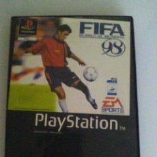 Videojuegos y Consolas: JUEGO FIFA 98 PARA PLAY STATION 1.. Lote 61687540
