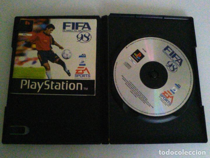 Videojuegos y Consolas: Juego fifa 98 para play station 1. - Foto 2 - 61687540