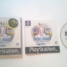 Videojuegos y Consolas: FOOTBALL MANAGER PREMIER LEAGUE 2001 F.A. SONY PLAYSTATION PS1 PSX PAL UK.. Lote 61971692